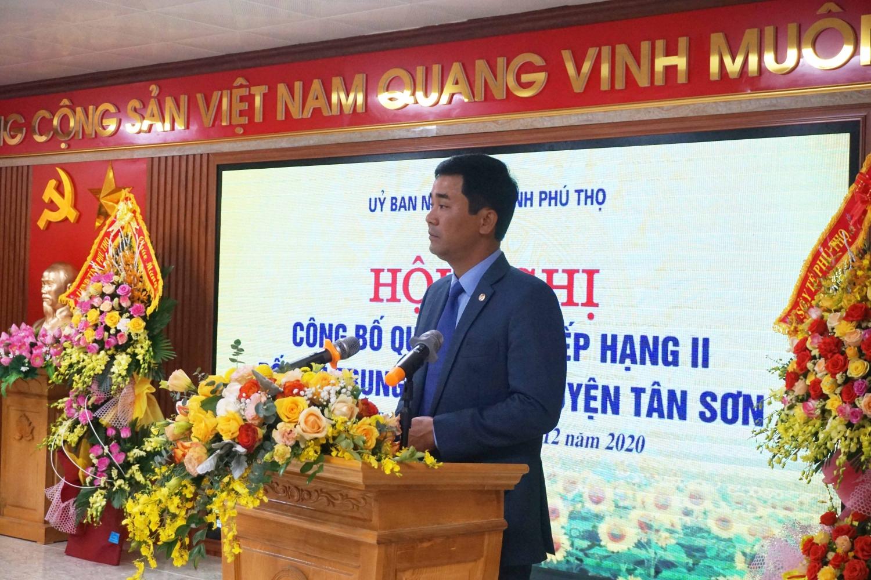 Đồng chí Hồ Đại Dũng - Tỉnh ủy viên - Phó Chủ tịch UBND tỉnh